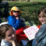 picnic in Richmond Park