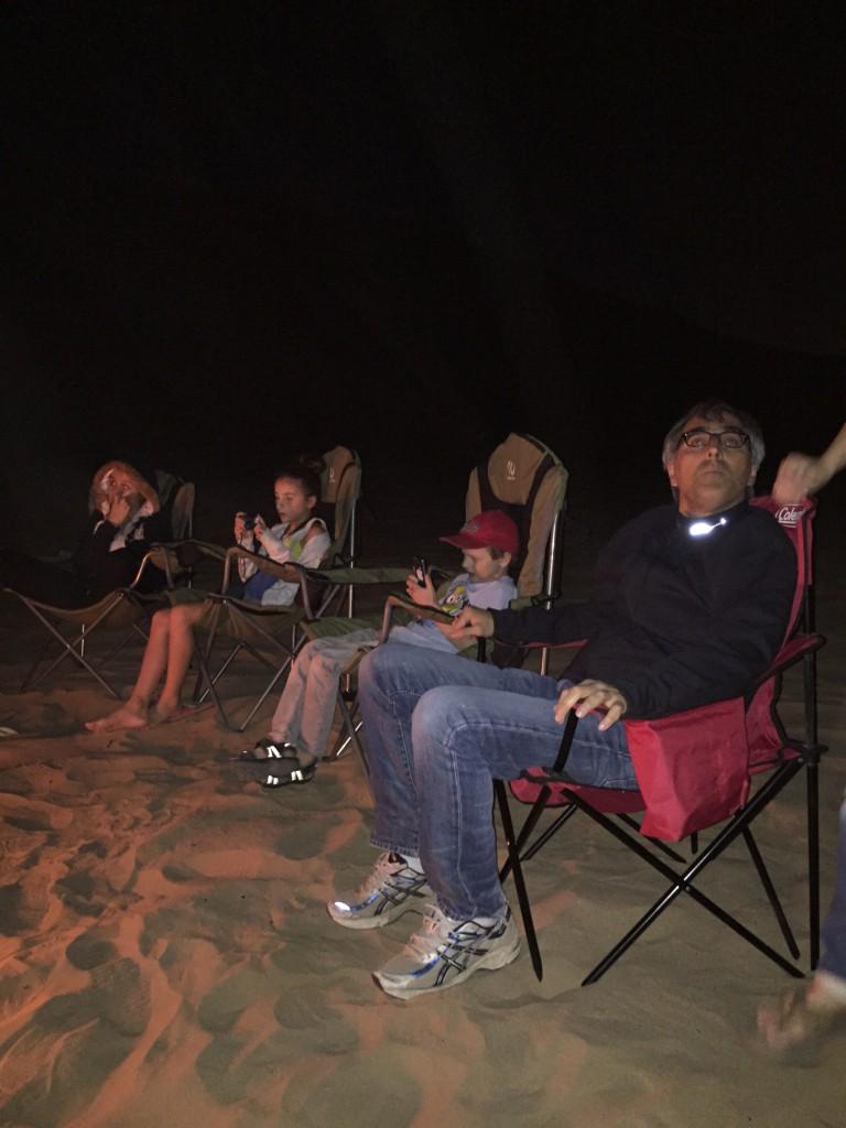 ..a full moon night in the desert...